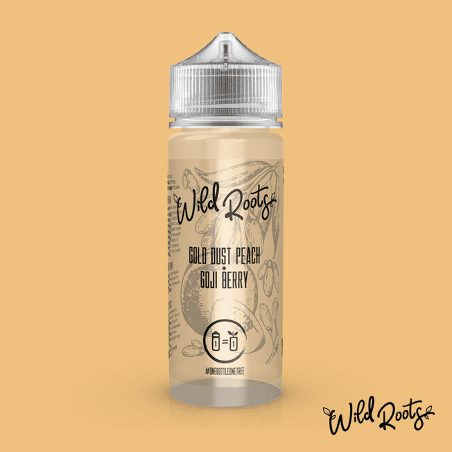 Gold Dust Peach by Wild Roots - 100ml Shortfill