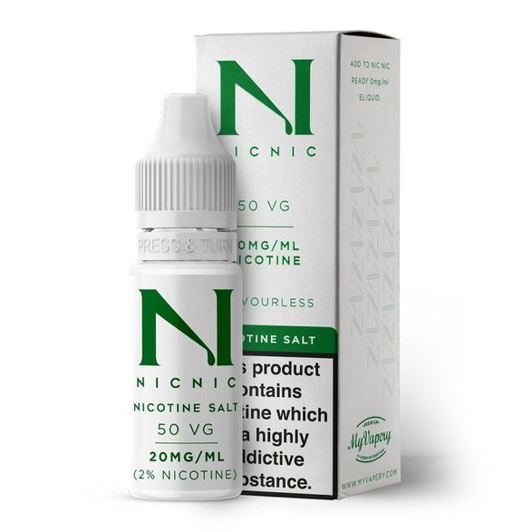 Nicotine Salt Shot 20mg by Nic Nic