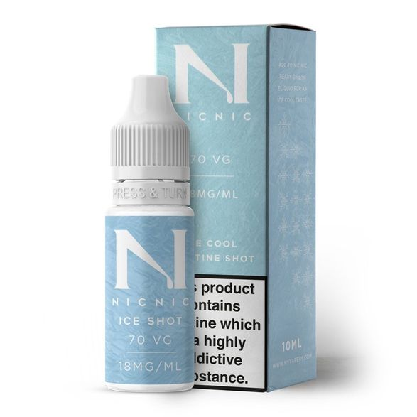 Nicotine Ice Shot 18mg by Nic Nic